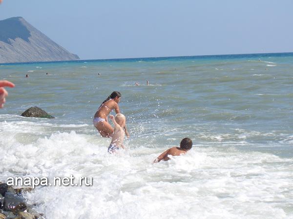 Секс на пляже анапы видел