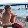 """Пляж возле санатория """"Русь"""""""