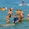 Анапа Центральный пляж море август