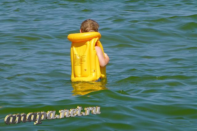 Анапа Центральный пляж море, ребенок