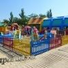 Комплекс детских аттракционов на Центральном пляже Анапы