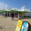 Пляж Джемете летнее кафе