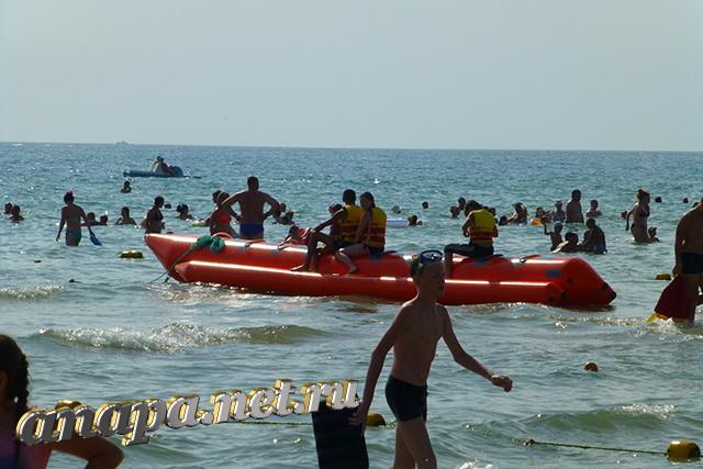 Пляж Джемете банан