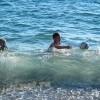 Анапа п. Малый Утриш - дети, море